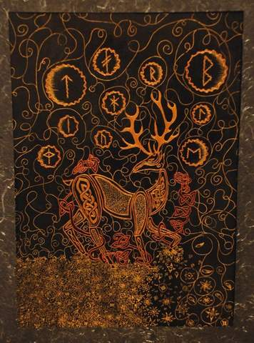 Celtic Deer